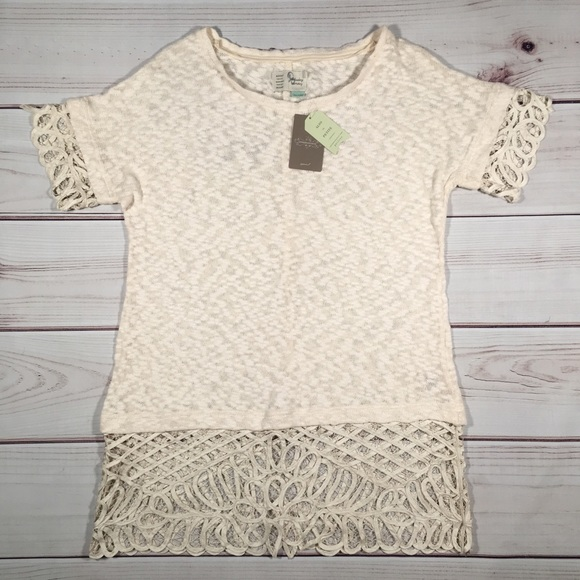 Anthropologie Dresses & Skirts - NWT ANTHROPOLOGIE MTWTFSS  Ivory White Lace Dress